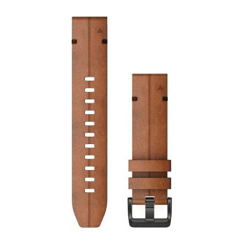 Correa QuickFit Cuero Chestnut 22mm ( Fenix 5/6), Garmin