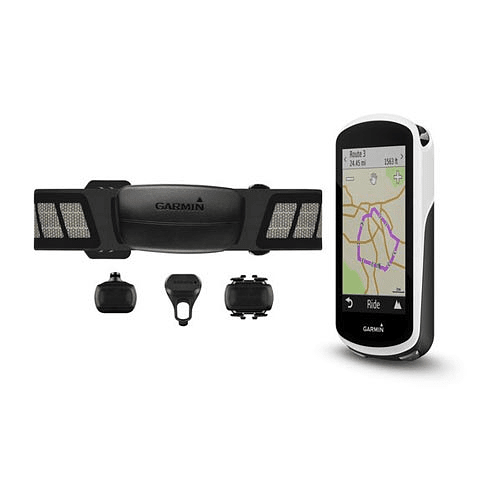 Ciclocomputador GPS EDGE 1030 topo bundle, Garmin