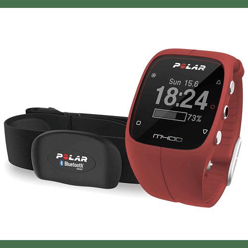 Reloj GPS M400 con banda pulsómetro, Polar