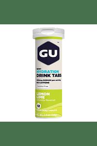 Tabletas de Hidratación (8x12 tabletas) Lemon Lime , GU