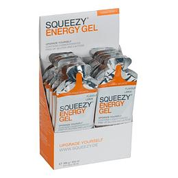 Pack Frambuesa energy gel (12 unidades),  SQUEEZY
