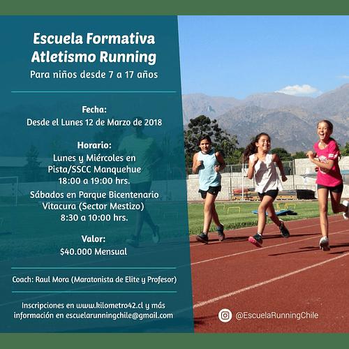 Escuela Formativa Atletistmo Running