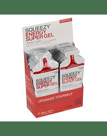 ENERGY SUPER GEL (con cafeína) caja 12 unid. , SQUEEZY