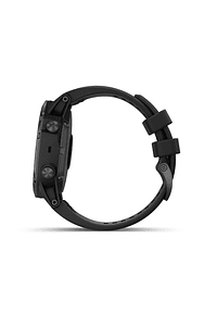Fenix 5X Plus Zafiro negro con correa negra, Garmin