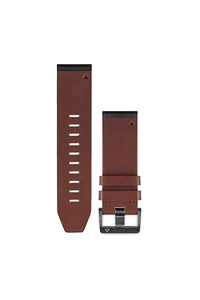 Correa cuero QuickFit 26mm (Fenix 5X / Fenix 3HR), Garmin