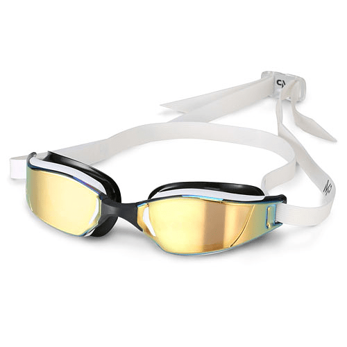 Lentes de Natación XCEED MIRROR GOLD, Michael Phelps