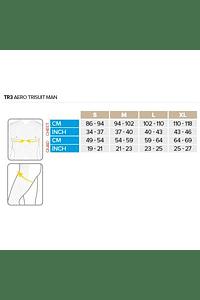 TR3 Aero Trisuit negro, COMPRESSPORT
