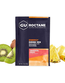 Roctane Ultra Endurance Tropical Fruit (10 sobres, con cafeína), Gu