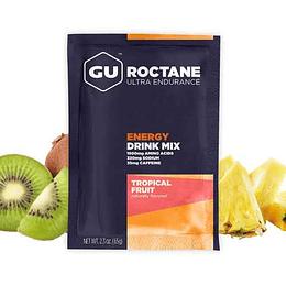 Roctane Ultra Endurance Tropical Fruit (10 sobres, con cafeína), Gu