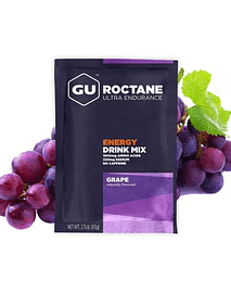 Roctane Ultra Endurance Grape Unidad (Sin cafeína), Gu