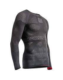 ON/OFF MULTISPORT SHIRT LONG GREY, Compressport