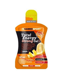 TOTAL ENERGY STRONG GEL - 40ML (caja 24 unid) , NamedSport