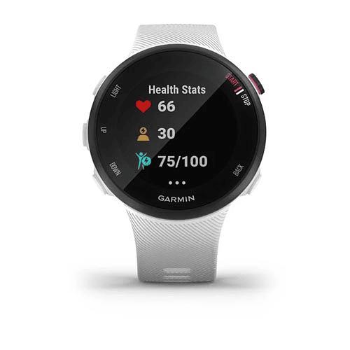 Reloj GPS Forerunner® 45s blanco, Garmin