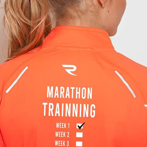 Camiseta técnica mujer Marathon Trainning negra