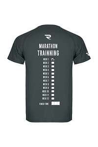 Polera técnica hombre Marathon Trainning gris