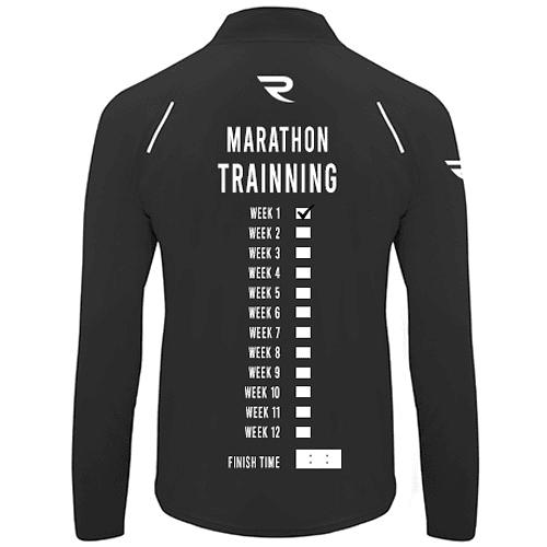 Camiseta técnica hombre Marathon Trainning negra
