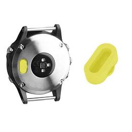 Tapa protectora de polvo para puerto de carga (amarilla)