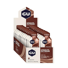 Energy Gel Chocolate (24 unid), GU