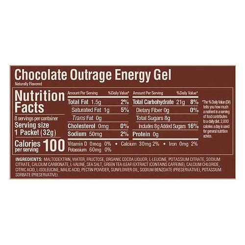 Energy Gel Chocolate (24 unid), GU