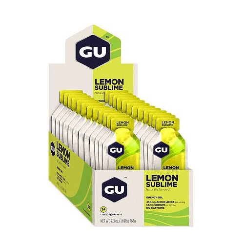 Energy Gel Lemon Sublime (24 unid), GU