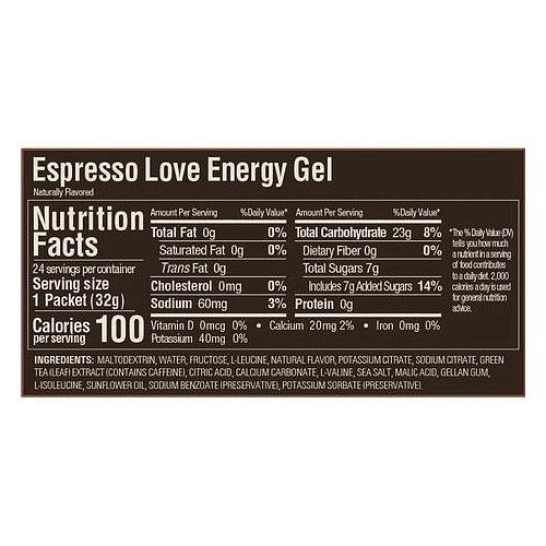 Energy Gel Sabor Espresso Love (24 unid), GU