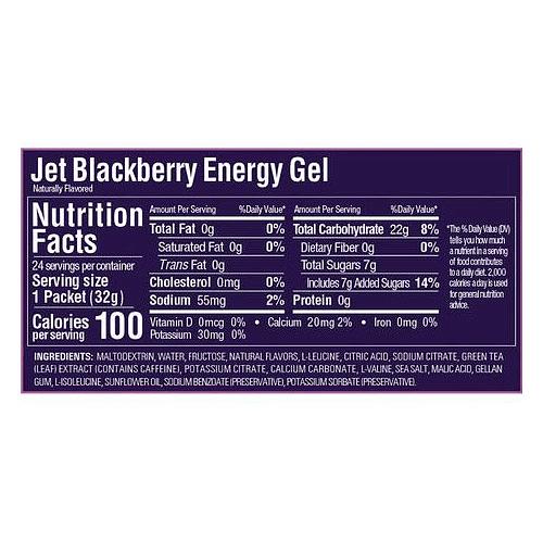 Energy Gel Sabor Jet Blackberry (24 unid), GU