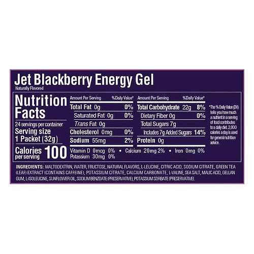 Energy Gel Sabor Jet Blackberry (24 unid), GU