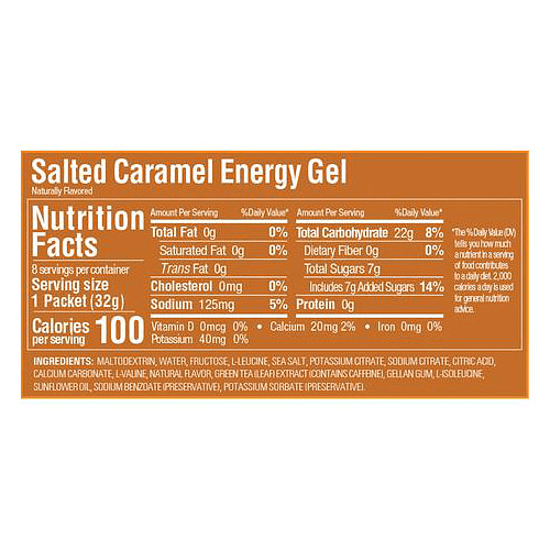 Energy Gel Salted Caramel (24 unid), GU