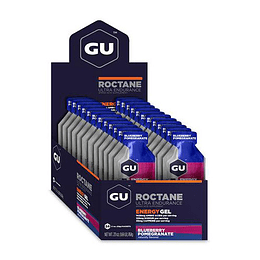 Energy Gel ROCTANE Blueberry Pomegranate (24 unid), GU