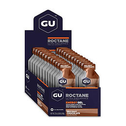 Energy Gel ROCTANE Sea Salted Chocolate(24 unid), GU