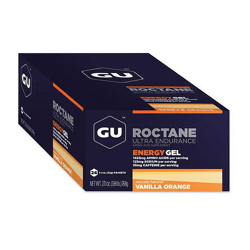 Energy Gel ROCTANE Vainilla Orange (24 unid), GU