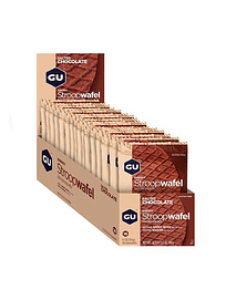 Energy STROOPWAFEL Salted Chocolate (16 unid), GU