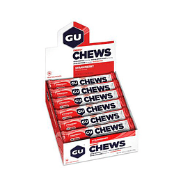 Gomitas Chews sabor Strawberry (18 unid), GU