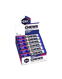 Gomitas Chews Blueberry Pomegranate (18 unid) sin cafeína, GU