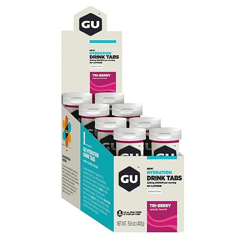 Tabletas de Hidratación (8x12 tabletas) Tri-berry, GU