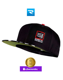 Trucker Cap SwimBikeRun Black, Compressport