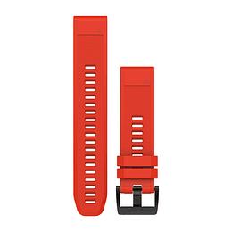 Correa roja QuickFit 22MM (Fenix 5/ 6/ FR 935/945/ Instinct), Garmin