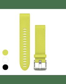 Correa amarilla quickfit 20MM (Fenix 5s/ 6s ), Garmin
