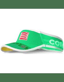 Visera ultralight v2 25x verde FLUO , Compressport