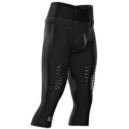 Trail Running Under Control Pirate 3/4 Black T3, Compressport