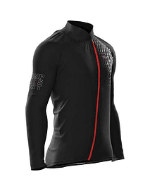 Chaqueta Hurricane V2 Negro, Compressport