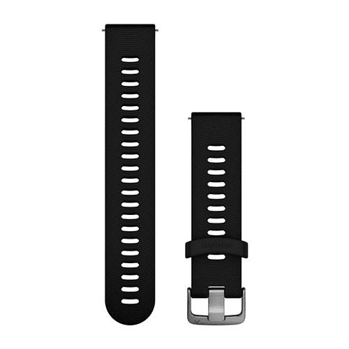 Correa Negra 20mm (Forerunner 245 / 645 / Vivoactive 3 / Vivomove HR), Garmin
