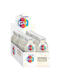 Energy Gel Birthday Cake (24 unid), GU