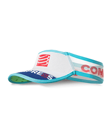 Visera compressport ultralight v2 25x azul , Compressport