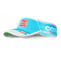 Visera compressport ultralight v2 25x FLUO azul , Compressport