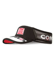 Visera ultralight v2 25x negra , Compressport
