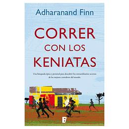 "Libro ""Correr con los Keniatas"", Adharand Finn"