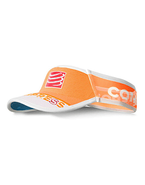Visera ultralight v2 25x fluo naranja , Compressport
