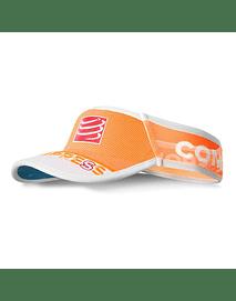 Visera ultralight v2 25x fluo naranja , Compressport