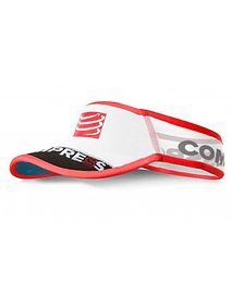 Visera ultralight v2 25x blanca , Compressport